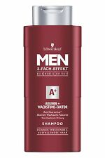 250ml Schwarzkopf Men A+ Shampoo Arginine + Growth Factor Scalp