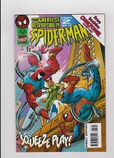 """October 1995 Marvel """"Spider-Man"""" Squeeze Play Part 2 Over Power Game Card"""