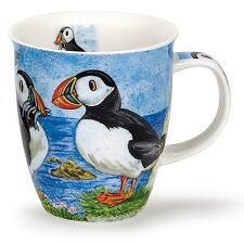 Lovely Highland Puffin Sea Life Bird Dunoon Fine Bone China Mug Nevis Shape