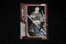 HOF JOHNNY BOWER 2008-09 0-PEE-CHEE LEGENDS SIGNED AUTOGRAPHED CARD #566