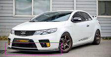 (Fits: KIA 09-11 Forte / Cerato koup) STYLE performance front lip UNPAINTED