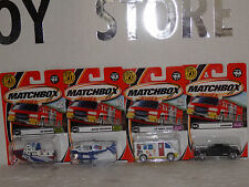 MATCHBOX ST/4 1/64 # 66, 65, 63, 61.-2002 SERIES