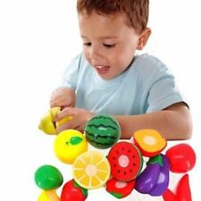 Children Cut Hruit Vegetable Play Educational Toy Environment Plastic Kitchens H