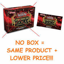 YU-GI-OH - NO BOX - PREMIUM GOLD PACK 3 - 2016 INFINITE BOOSTER 15 CARDS - PRIZE