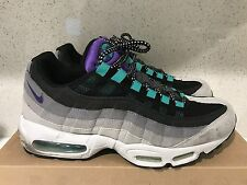 Nike Air Max 95 SZ 9.5 GRAPE GREEDY SOLECOLLECTOR STASH 609048-030