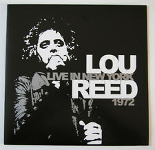 Lou Reed Live in New-York 1972 (LP neuf / new)
