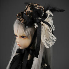 Dollmore   All Size - H & Love Hat (Animal Brown)