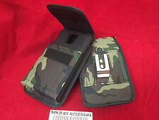 GREEN NYLON CASE HOLSTER BELT CLIP POUCH FOR SAMSUNG GALAXY NOTE 3 RUGGED ARMOR