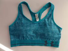 NEW Under Armour Women's HeatGear® Armour Sports Bra Cup Top Size M  (AA12)