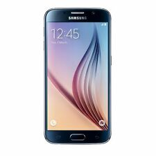 SAMSUNG Galaxy s6 piatto 3/32gb Nero SIM-Free 4g 16mp 577ppi NFC Android 5.0