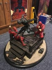 GI Joe Sideshow Collectibles Snakes Eyes vs. Red Ninjas Statue (Very Rare)