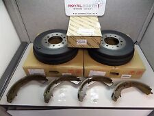 Toyota Tacoma 4Runner Pickup Rear Shoes and Drum Set Genuine OE OEM