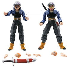 TRUNKS - 2 PERSONAGGI -17Cm- Dragon Ball Z Super Sayan Figure Modellino Statuina