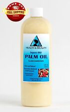 PALM OIL RBD ORGANIC by H&B Oils Center COLD PRESSED PREMIUM PURE 64 OZ