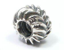 AUTHENTIC PANDORA 925 STERLING SILVER MAKING WAVES SPACER CHARM 790515