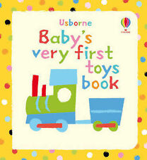"""Jenny Tyler Baby's Very First Book of Toys """"AS NEW"""" Book"""