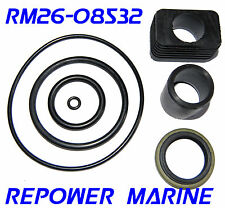 Lower Gear Case Seal Kit, for Volvo Penta SX, OMC Cobra, replaces 3855275