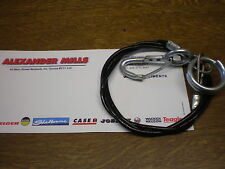 ALEXMILLS TRAILER SAFETY EMERGENCY BREAKAWAY CABLE BLACK TOWING CARAVAN TRAILER