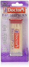 5 Pack The Doctor's BrushPicks Interdental Toothpicks - 120 Count Ea = 600 Picks