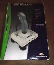 PC RAIDER JOYSTICK FOR USE WITH IBM PC AND COMPATIBLE