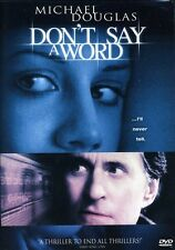 Don't Say a Word DVD Region 1 024543034056