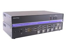 Smartavi D2H-4P-DUO-S 8-Port DisplayPort In and 2-Port HDMI Out KVM Switch