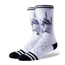 Stance Socks Jay Adams Venice Skate White Large Uk7-11 Limited Release New BNWT