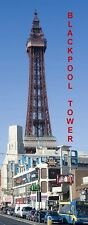 PANORAMA FRIDGE MAGNET of BLACKPOOL TOWER ENGLAND