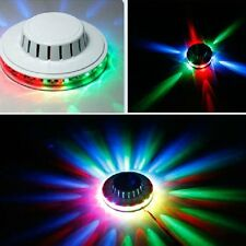 LED RGB Lamp Effect 8W Auto Sunflower Rotating Party Stage Club KTV Disco Light
