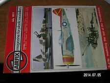 Airfix Magazine for Modellers July 1977 Squadron code Operation Griffon P-47N