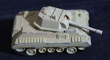 MAJORETTE SONIC FLASHERS DIECAST METAL MILITARY TANK