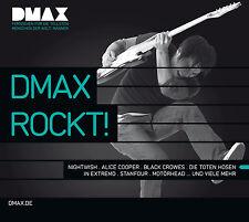 CD Dmax Rockt   von Various Artists 2CDs mit Motörhead, Alice Cooper, Megaherz