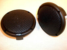 2 MARINE SPEAKERS 3 INCH BLACK, ATV, SPA, MOTORCYCLE, BOAT, CAR