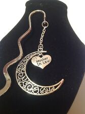 Mother in law.. filligree book mark silver plated