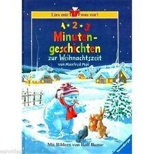 1-2-3 MINUTENGESCHICHTEN zur Weihnachtszeit - Das Buch für Weihnachten