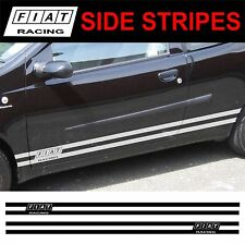 FIAT PUNTO BRAVA BRAVO STILO ONU SIDE STRIPE Decalcomanie Adesivi Grafiche