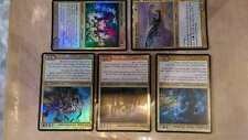 Magic Commander 2013 - 1x Mayael the Anima 4x other- Oversize Foil-see photo
