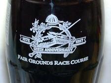 125th Fair Ground Race Course 97 Horse Racing Coca-Cola Coke Bottle
