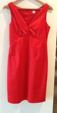 Gorgeous Sz 8 10 Table Eight Ruby Red Silky Party Dress