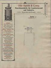 ZERBST, Briefbogen 19__, Landmaschinen-Fabrik Otto Specht & Co.