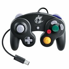 New Genuine Nintendo Wii U Super Smash Bros GC Gamecube Controller Gamepad Black
