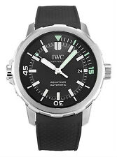 IWC IW329001 Schaffhausen Aquatimer Black Dial Black Rubber Men Watch New in Box