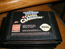 "SEGA GENESIS GAME "" GLOBAL GLADIATORS  "" VERY NICE CONDITION TESTED"