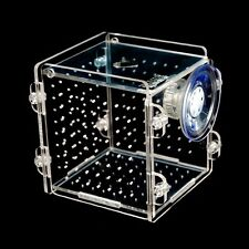 New Fish Tank Aquarium Small Hatchery Plastic Box for Breeding Nursery Isolation