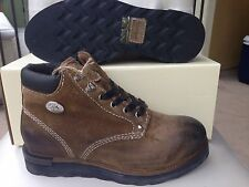 Diesel D.I.Y. Cub Y00239 Brown Leather Burnished Toe Men's Boots $225 Size 7.5