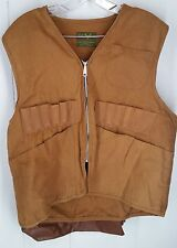 Stream and Field tan Hunting Vest fishing sportsman utility game bag Mens