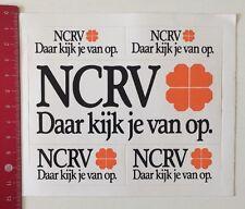 Aufkleber/Sticker: NCRV - Daar Kijk Je Van Op (10061667)