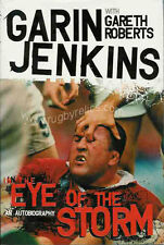 "Garin JENKINS Pontypool Swansea & Wales RUGBY BOOK ""In the Eye of the Storm"""