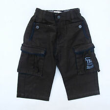 Timberland Jeans Ragazzi Jeans Cargo Denim marrone scuro 80s Straight Fit SZ 9m/74
