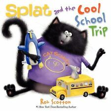 Splat and the Cool School Trip (Splat the Cat)-ExLibrary